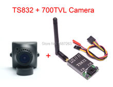 TS832 5.8Ghz 48CH 600mW FPV AV Wireless Transmitter + 700TVL Camera w/ 2.8mm wide angle lens COMS for QAV-R 220 Quadcopter