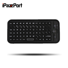 Original iPazzPort KP-810-16B Mini Size Wireless Bluetooth 3.0 Keyboard Small Portable Handheld Keyboard For Android For IOS(China)