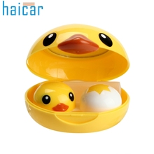 Haicar Popular Mini Contact Lens Case Box Travel Kit Easy Carry Mirror Container Organizer U70321 DROP SHIP