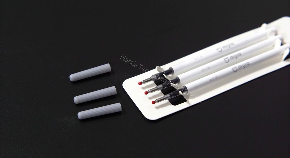Original 3pcs Xiaomi Mijia Refills for Xiaomi Sign Pen Replaceable Refills Smooth Switzerland Refill MiKuni Japan Ink for Mi Pen 24