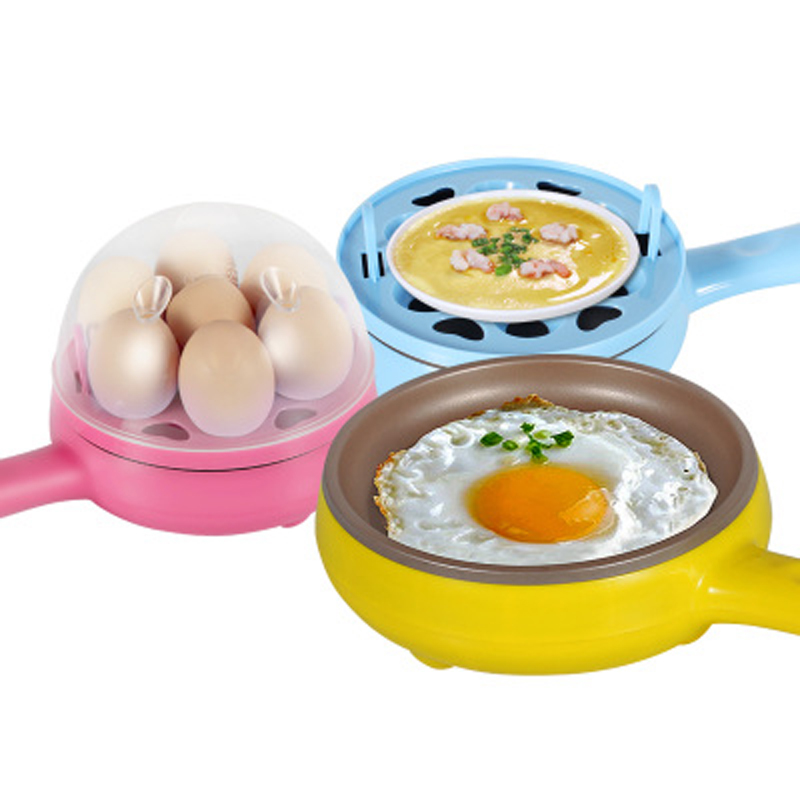 Home appliances kitchen egg boiler four color Boil/Fry/Steam Multifunction ABS plastic outer shell and Non stick pot egg master<br><br>Aliexpress