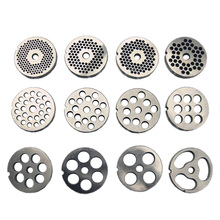 #12 Type Replaceable Meat Grinder Plate Hole 3-18mm Manganese Steel Chopper Disc For Mixer Food Chopper(China)