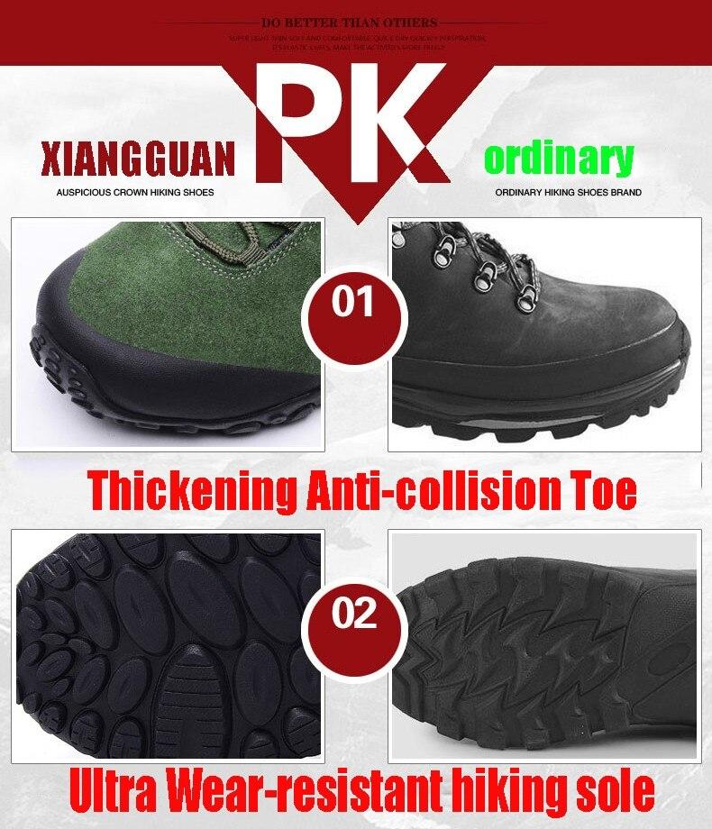 XIANG GUAN Winter Shoe Mens Sport Running Shoes Warm Outdoor Women Sneakers High Quality Zapatillas Waterproof Shoe81285 27