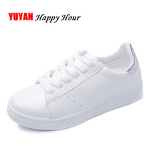 New 2017 Spring Summer Shoes Women Flats Soft Leather Fashion Women's Casual Brand White Shoes Breathable Comfortable ZH1775