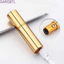 Latest Mini multi-color lipstick lighter USB rechargeable lighter green metal arc electronic cigarette lighter(China)