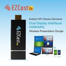 2016 Best sells Micro USB miracast streaming pc dongle Ezcast pro cheap chromecast wireless dongle for tv