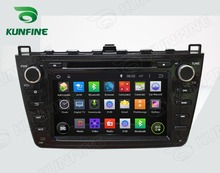 Quad Core 1024*600 Android 5.1 Car DVD GPS Navigation Player for Mazda 6 2008-2012 Radio 3G/Wifi steering wheel control Remote