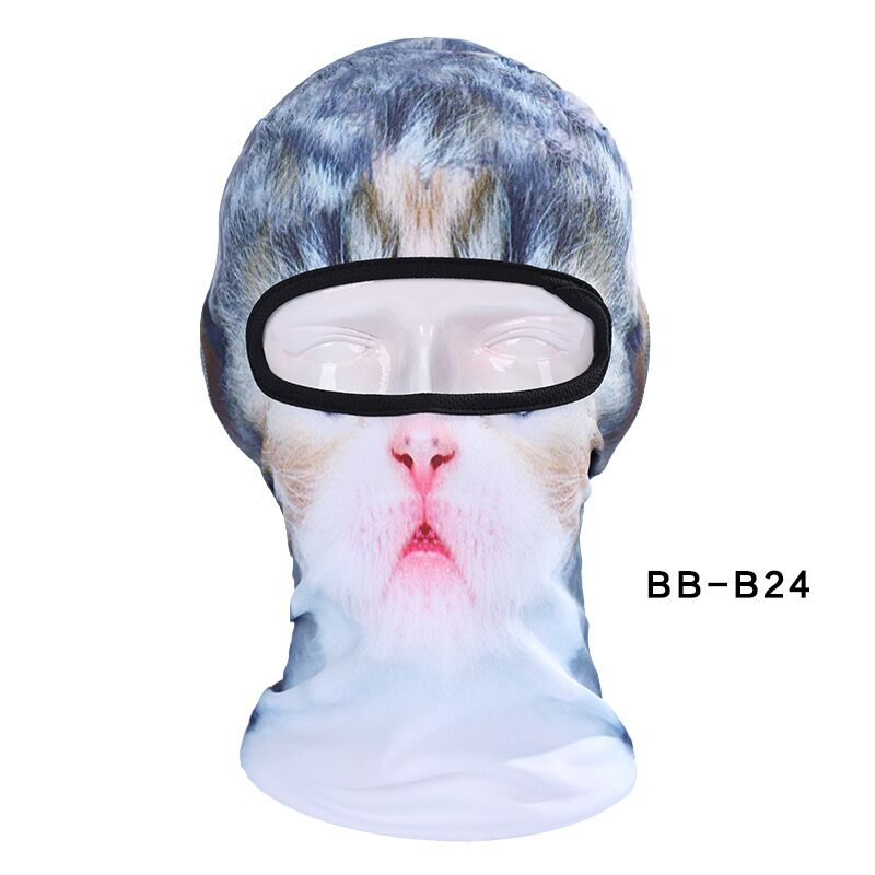 New Lovely Cute New 3D Cat Animal Bicycle Cycling Fishing Hat Outdoor Sports Cap Ski Balaclava Motorcycle Full Face Mask BBB24Îäåæäà è àêñåññóàðû<br><br><br>Aliexpress