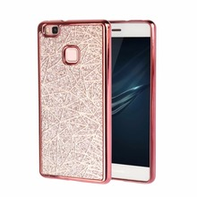 Buy Bling Luxury Matte Dimensional TPU Soft Phone Case Huawei Ascend P8 P9 P10 Lite Y5 ii Y6 ii Back Cover Phone Case for $2.16 in AliExpress store