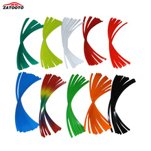 ZATOOTO  Fashion 17 Strips Motorcycle Car Wheel Stickers Reflective Rim Tape  Car Styling Car Vehicle Accessories