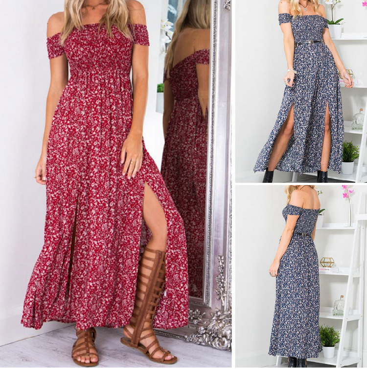 ELBENWALD Long Maxi Convertible Bridesmaid Dresses 7