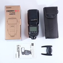 Yongnuo YN600EX-RT II Wireless 1/8000s Master HSS Flash Speedlite Unit TTL Master for Canon DSLR Camera as Canon 600EX-RT II