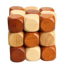 Dragon Tail Magic Cube Style Rubber Wood Adult Children Intelligence Puzzle Lock Toy 3D Jigsaw Puzzle Toy