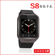 The new 3G smart watch can be inserted SIM cassette cameras multifunction smart wearable Bluetooth cell phone watch