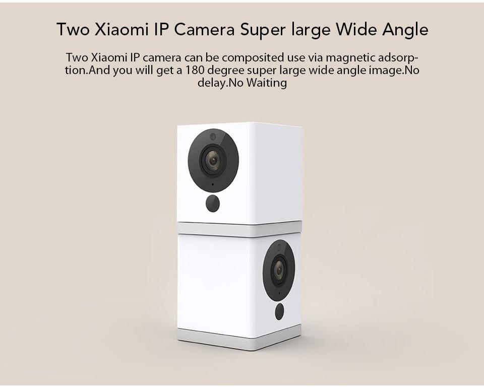 Original Xiaomi CCTV Mijia Xiaofang 110 Degree F2.0 8X 1080P Digital Zoom Smart Camera IP WIFI Wireless Camaras Cam Night Vision (8)