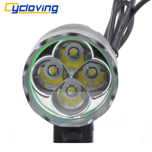 Cycloving 4T6 Bicycle Headlight Cycling Bike light 5200 lumens outdoor led headlamp Waterproof luces para bicicleta