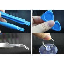 New 10 PCS Phone Opening Tools Plastic Guitar Picks Pry Opener for iPhone iPad Tablet PC Disassemble Repair Tool Kit(China)
