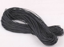 100 Meters 1mm Black Cotton Waxed Cord Wax String Jewelry Beading /Thread Cord DIY Jewelry For Jewelry Making DIY Gifts Z1187(China)