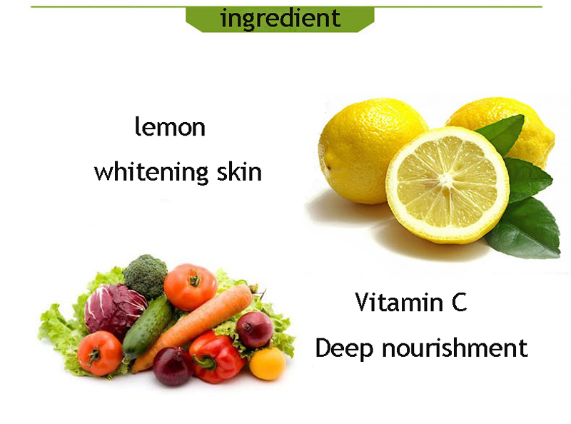 AICHUN 100g Herbal Vitamin C Treatment Whitening Mildly Soften Exfoliating Cream Peeling Gel Face Body Beauty Skin Care 4