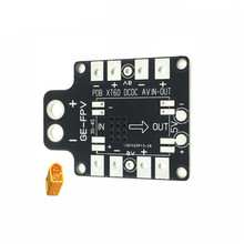 Hot Sale Integrated 30.5 x 30.5mm PCB Distribution Power Board With XT60 For Lisam210 210 Series FPV Frame