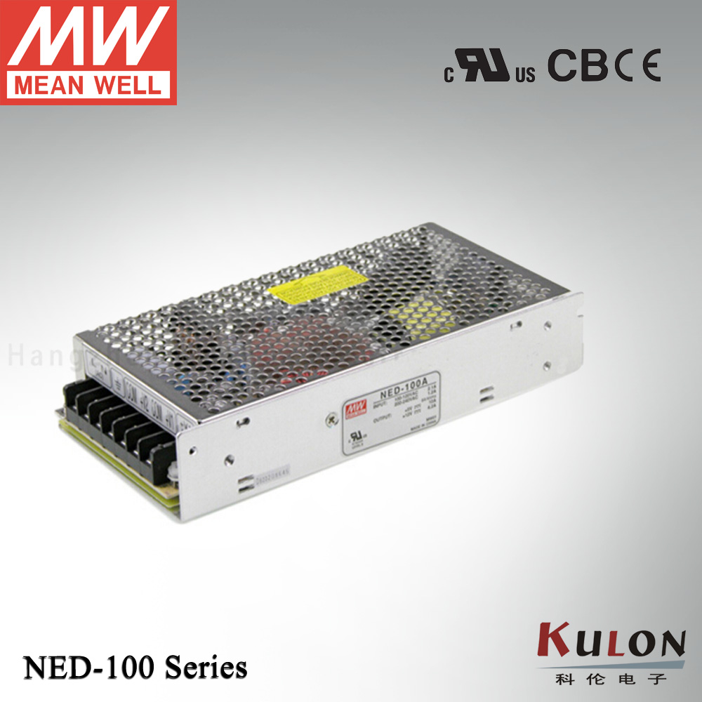 Original Meanwell NED-100B Dual Output 5V 24V 100W Power Supply  <br>