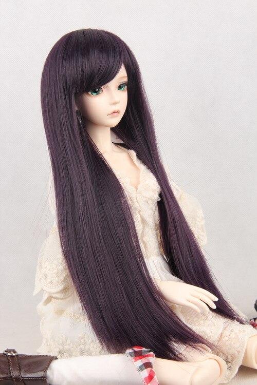 BJD / SD Doll Wigs  Soom Photon/ minifee Chloe Male / Female Dolls black Long wig/3/1 / 1/6 Immediately shipped