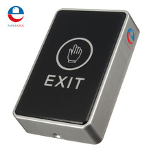 Safurance Push Touch Exit Button Door Eixt Release Button for access Control System suitable for Home Security  Protection