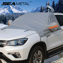 Universal Car-covers Automobiles PEVA Front Windscreen Covers Snow Proof Waterproof Dustproof Sunproof Summer Winter Accessories(China)