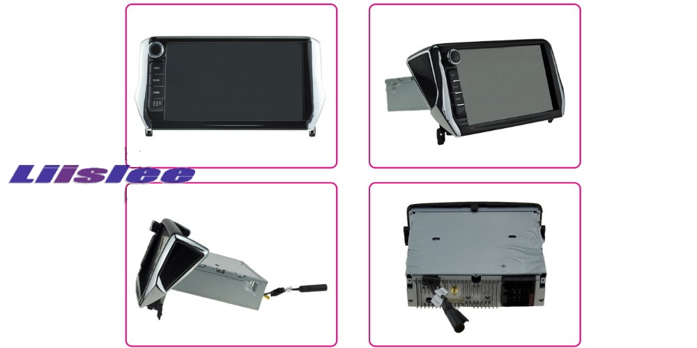 Car Multimedia Video GPS NAVI TV Controller System For PEUGEOT 2008 mosaic