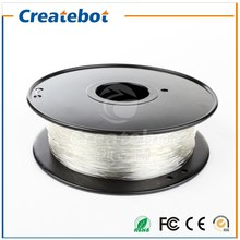 High Transmittance Createbot PETG Filament 1.75mm Transparent Good Quality Favorable Price for Sales Promotion(China)
