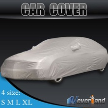 Indoor Outdoor Full Car Cover Sun UV Snow Dust Resistant Protection Size S M L XL Car Covers Free shipping