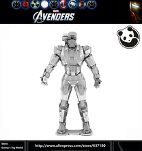 MARVEL WAR MACHINE 3D Metal model Etchingpuzzles new styles Chinses jigsaw 3 Sheets DIY Creative gifts