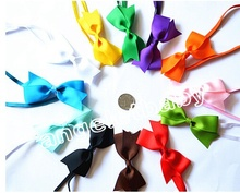 "12pcs Fashion  Headbands Children Hair Accessories Kids 4"" Bow Headband Childrens Accessories with slender rubber PJ5278"