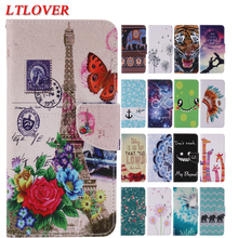 Buy Coque iphone 8 Cover High Cute Cartoon Pattern PU Flip Leather Case Apple iPhone 8 Cases Mobile Phone Shell Capa for $4.25 in AliExpress store