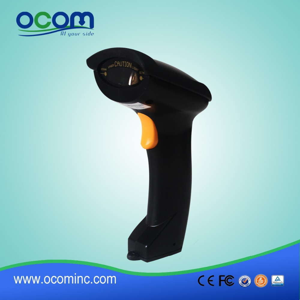 Simple and Comfortable 1D Bluetooth Wireless Barcode Scanner<br>