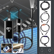 3.5m Hard Cable OTG Micro USB Android Endoscope Camera 7mm Lens Waterproof Snake Industrial Inspection - Gizcam TechFinder Store store