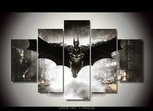 Home decor for living room kids decor Wall Art Picture printed Batman Movie Poster oil Painting on canvas art prints /PT0124