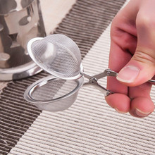 Creative High Quality Convenient Stainless Steel Handle Tea Mesh Ball Filter Stable Tea Strainer Strong Tea Infuser Hot Sale 667