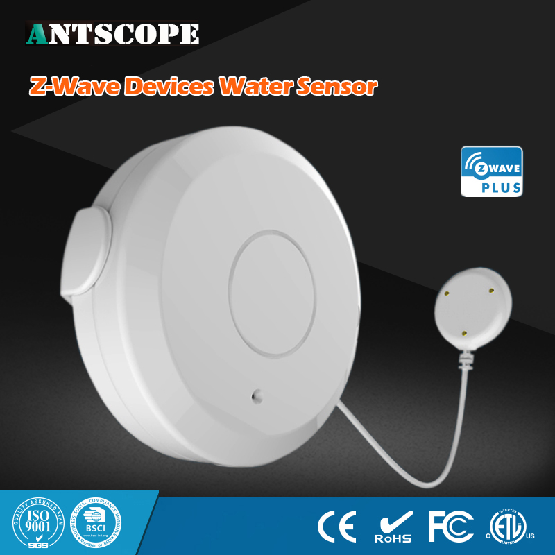 NEO Coolcam NAS-WS01Z Smart Home Z-Wave Plus Flood Sensor Compatible with Z-wave 300 series and 500 series Home Automation<br>