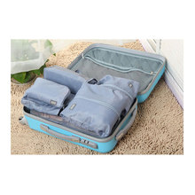 7pcs/lot ( seven different size)  Highend & Luxury Tavel Bags Multi Purpose luggage Organizers for wash/clothes/cosmetics/shoes