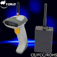 Wireless1D bar code reader laser barcode Scanner with USB2.0 RS-232 PS/2 interface Free shipping