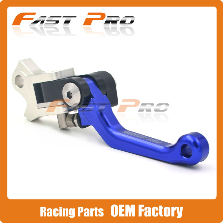 4 Directions Foldable Pivot Brake Lever For YZF YZ YZ125 YZ250 YZ250F YZ250FX YZ426F YZ450F 2008-2015 Motocross Enduro Supermoto<br>