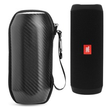 New Portable Travel Case for JBL Flip4 Flip 4 Wireless Bluetooth Speaker Case Protective Case EVA Case High-grade Carbon Fiber