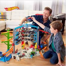 7-14 Puzzle Children Hot Wheels track hot small car stereo track track the latest cyclotron boy toy car baby gift
