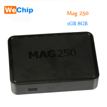 Wechip 10 pcs Inform Mag250 IPTV Box Multi media Player Internet TV IP Receiver HB Digital MAG 250 TV Box Not Include USB Wifi(China)