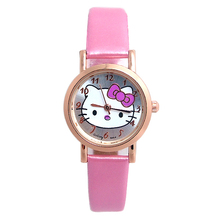 Wholesale Fashion Quartz Watch Children Women Hello Kitty wrist watch cute lovely 32G26