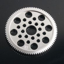 RC Sakura Alloy 7075 Metal 48P Spur Gear 85 Tooth For Sakura 1/10 Scale Models RC Drift Racing Car D3 CS S XI XIS G31 R31 MST