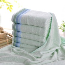 Top Quality New Design Bamboo Towel Bath Shower Fiber Cotton Super absorbency Home Hotel bath towel(China)