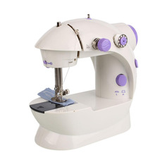 Multifunctional Portable Mini Automatic Handheld Dual Speed Electric Sewing Machine Home Desktop With Led EU Plug
