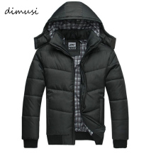 DIMUSI 2017 Jacket Men Winter Jacket Big Size M-4XL New Arrival Casual Slim Cotton With Hooded Parkas Casaco Masculino ,YA294(China)